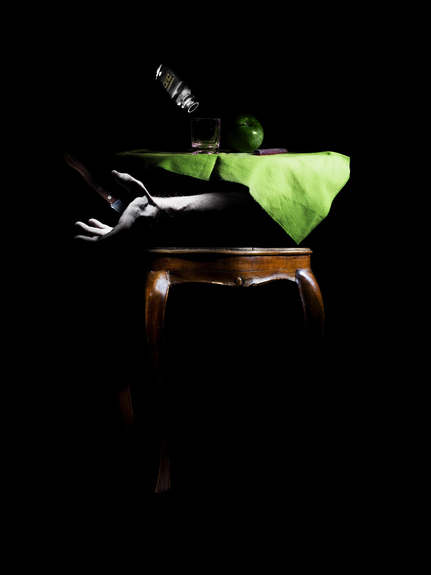 fra i due mali si sceglie il minore-30CM X 40CM / 50CM X 70CM / 70CM X 100CM – Print on FineArt Baryta Hahnemühle / dibond-©2009 – Edition of 5