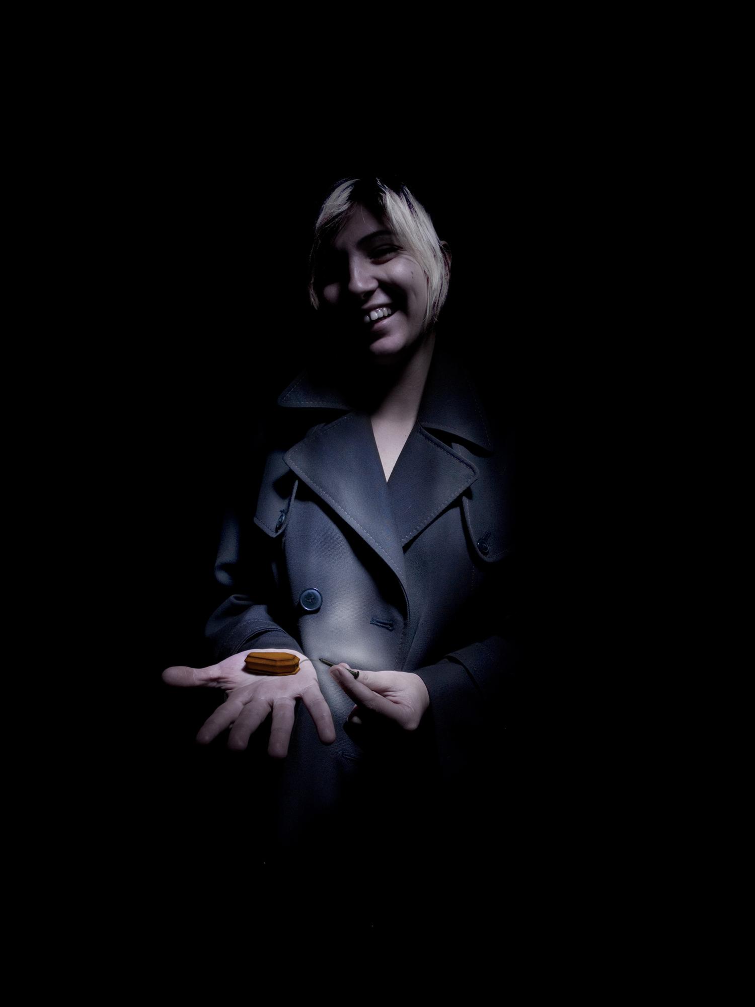ogni sorriso toglie un chiodo alla bara-30CM X 40CM / 50CM X 70CM / 70CM X 100CM – Print on FineArt Baryta Hahnemühle / dibond-©2009 – Edition of 5