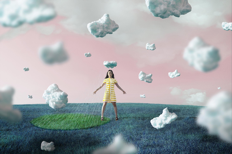 una giovane donna, anni 17, un'isola, il KSC, uno space shuttle: l'Atlantis-45cm x 67,5cm – Hahnemühle Ultrasmooth FineArt paper on / dibond – 2 / 5-30cm x 40cm – Hahnemühle Ultrasmooth FineArt paper on / dibond – 1,3,4,5 / 5-©2017 – Edition of 5